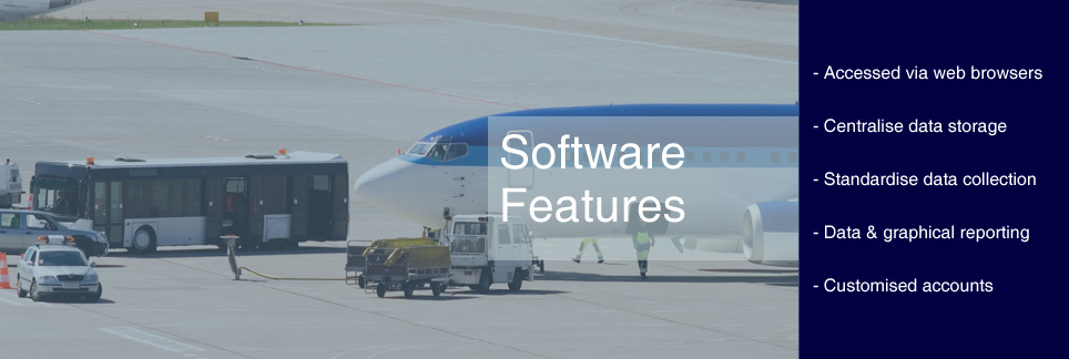 Web based software for Ground Services Providers